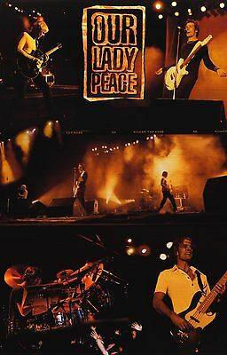 MUSIC POSTER~Our Lady Peace Old Raine Maida Naveed Clumsy Tour Original Live New