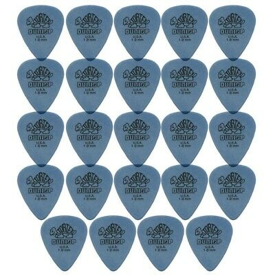 24 X Jim Dunlop Tortex Standard 1.00mm Blue Guitar Picks Bulk Bag