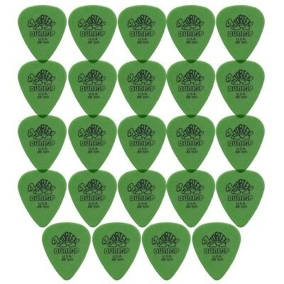 24 X Jim Dunlop Tortex Standard 0.88mm Green Guitar Picks Bulk Bag