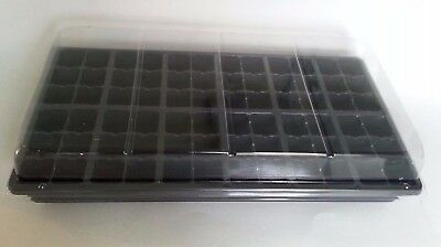 Set of Trays, Humidity Domes, 1206 inserts - 3 PACK - Seed Starting Kit
