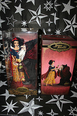 Disney Fairytale Collection Snow White And The Witch Limited Edition Dolls