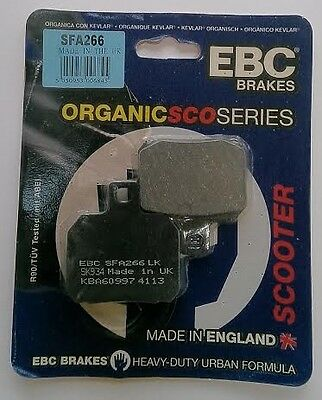 MBK YP125 Skycruiser (2006 to 2010) EBC REAR Brake Pads (SFA266) (1 Set)