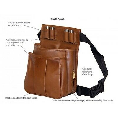 Leather Shell Pouch for Trap, Skeet, & Sporting Clays