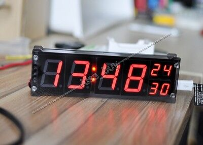 "1.2"" Digital clock module led electronic clock time with temperature alarm"