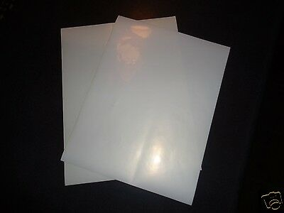 Clear Sticker Paper 11x8.5 Inkjet Printer Label Sheets Water Resistant No Smudge