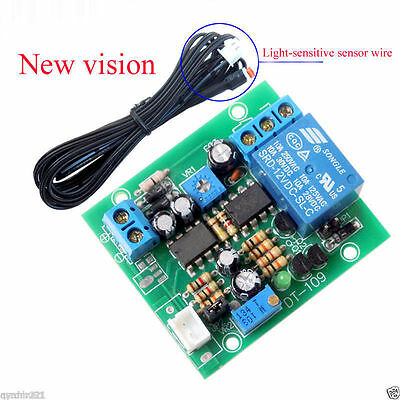 Automatic Headlight Sensor Light Delay Control Module Light Modified Adjustable