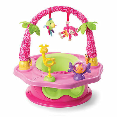 Island Giggles SuperSeat(R) Deluxe 3-Stage Activity Seat - Pink