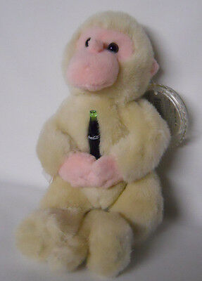 1999 Coca-Cola Japan Key Key the Snow Monkey Mini Bean Bag-Beanie