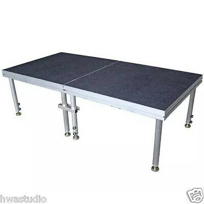 Portable Stage Platform Staging Band Allow Truss Quick set up Modular