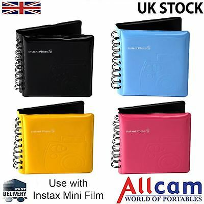Fujifilm Instax Mini Photo Album - Different Colors Available, Fuji Quality