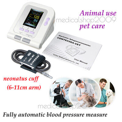 Fast ship! Vet Veterinary OLED digital Blood Pressure & Heart Beat Monitor NIBP