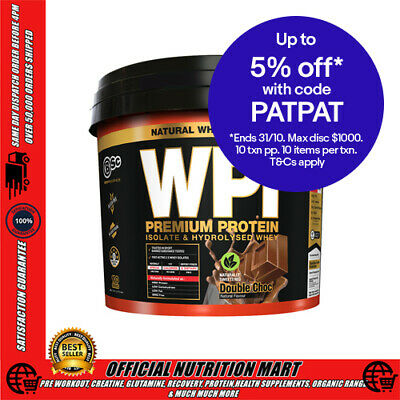 BSC WHEY PROTEIN ISOLATE 3kg - 100 SERVES - BODYSCIENCE WPI