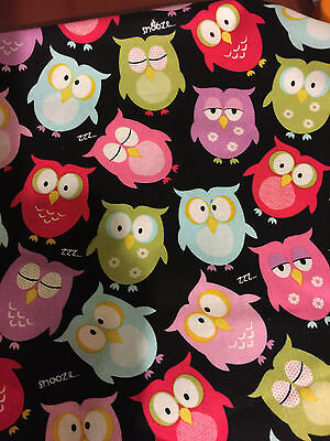 rice flax heat pad hot or cold shoulder Neck Back Minty With Ties &Handle OWLS