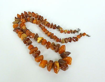 Amber Amber Necklace In 1900