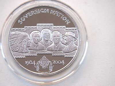 USA Creek Nation  10 Dollars  2004 1/2 oz. Palladium - Proof - selten