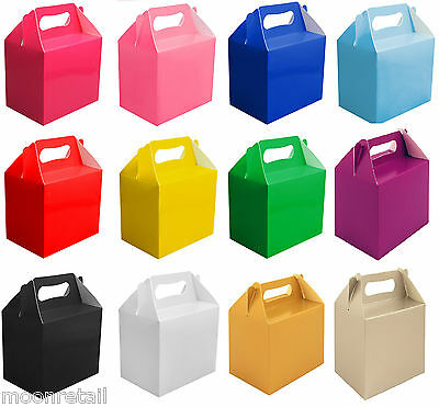 Childrens Kids Party Food Boxes Bag Filler Lunch Food Box Takeaway Wedding Gift