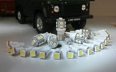 Land Rover Defender 90/110 TDI Instruments Clock & ALL warning lights LED White