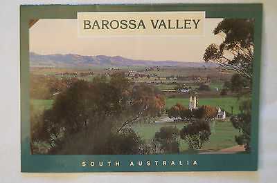 Barossa Valley - Australia - Folding 10 Photo Sheet - Collectable - Postcard.