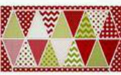 Christmas Banner Quilt Panel....free Post..in Stock Now