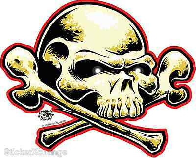 Free Dome Skull Sticker Decal Art Dirty Donny DD30