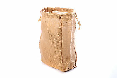 Medium Jute Hessian Drawstring Gift Bag/Sack