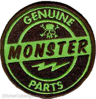 Genuine Monster Parts Embroidered Patch Art Kruse RKP8