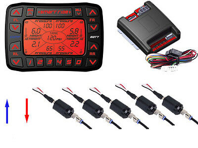 AccuAir VS SMART RIDE 7000 Electronic Leveling System AirBag Suspension 5 Preset