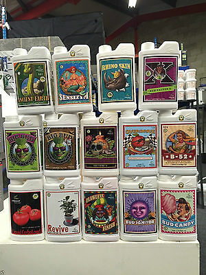 ADVANCED NUTRIENTS-BIG BUD, OVERDRIVE, B52,VOODOO,BUD CANDY AND MANY MORE 100ml