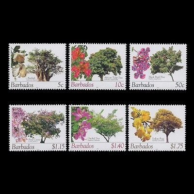 Barbados 2010 - Plants Flora Flowers Nature - Sc 1078a/88a MNH