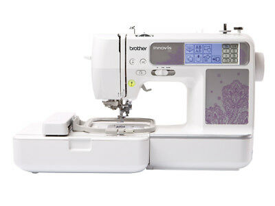 Brand New Brother Nv950 Sewing And Embroidery Machine Plus 3 Pce Hoop Set