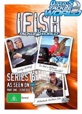 IFISH With Tackle World Series 6 (DVD Set) BRAND NEW at Otto's Tackle World
