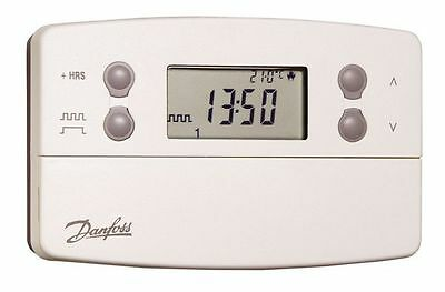 Danfoss 087N740000 TP7000 Hard Wired Battery 7 Day Programmable Thermostat  BNIB