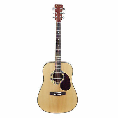 Solid Top Dreadnought Acoustic Guitar