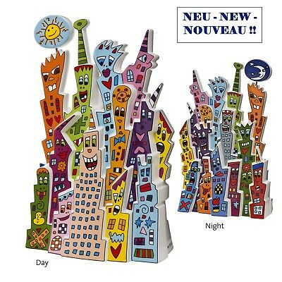 "JAMES RIZZI - POP ART KUNST Skulptur - ""DAY AND NIGHT"" limitited Edition 500 pcs"