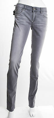 Jeans Gas Donna Beautiful Body Fit  Slim Superstretch Grigio Invecchiato