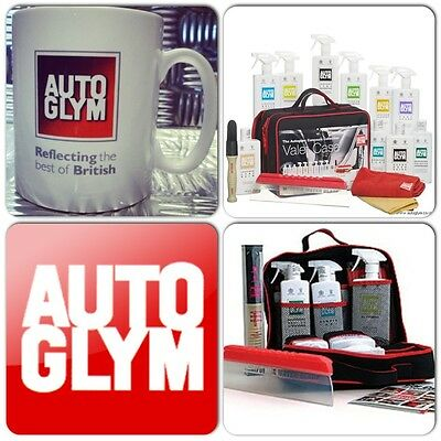 Autoglym Car Ultimate Clean Wax & Protect Black Valet Concours Gift Kit + 1 Mug