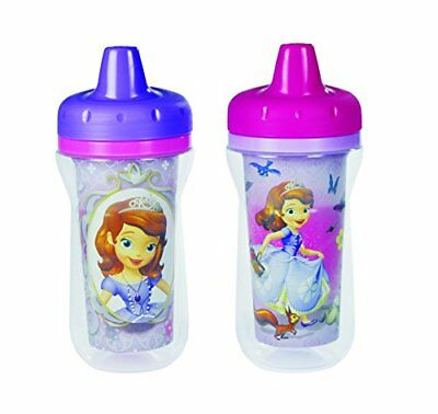 The First Years Disney Junior Sofia The First Insulated Sippy Cup, 2 Count New
