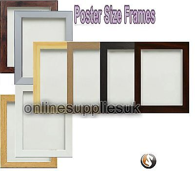Picture Frame Photo Frame Wood Effect Various Sizes Black Oak White Silver Beech