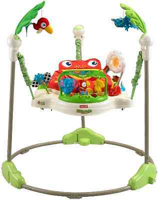 Fisher Price Rainforest Jumperoo Baby Jumper Walker Bouncer Activity Seat, New
