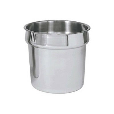 Winware by Winco Inset Bucket Stainless Steel Size 2-1/2 Quart