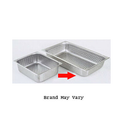 """Perforated Steam Pan, Full Size (12"""" x 20"""") Size 6"""""""