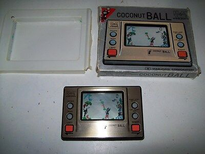 """Play & Time Coconut Ball By Masudaya Hand Held Game """"Rare Find Vintage Japan"""""""