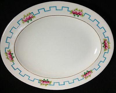 Oval serving tray Shelley Castle China England  Foley- Pattern: 8566 by SHELLEY