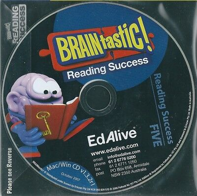 Braintastic Reading Success FIVE 5 - Educational CD New