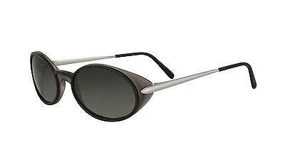 a5a7a6eddfab5 NEW CARTIER OVAL Sunglasses T8200314 Platinum Frame Grey Lens France ...