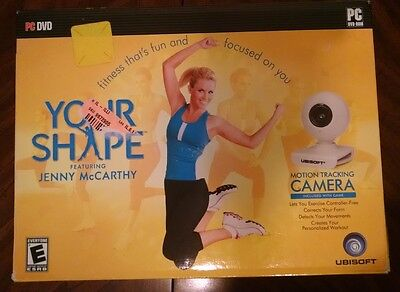 Your Shape featuring Jenny McCarthy (includes Motion-Tracking Camera) (PC, 2009)