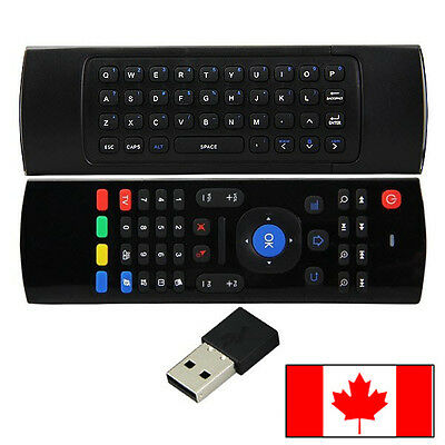 2.4ghz Air Mouse Mini Wireless Keyboard Remote Control for Android TV Box