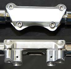 Wild 1 WO538 Riser Top Clamp 1 Piece Suit FLH 79-UP Oem FLH 08-up