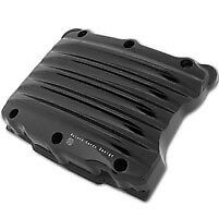 Roland Sands Design Black Anodized Nostalgia Rocker Box Covers - 0177-2002-B