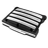 Performance Machine Platinum Cut Drive Style Rocker Box Covers - 0177-2037-BMP